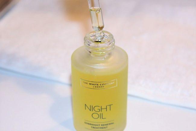 White Company Advanced Skincare Night Oil