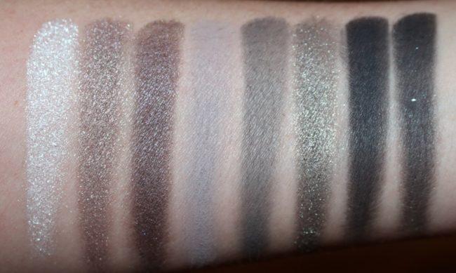 YSL The Shock Palette - Couture Variation No 4 Underground Swatches