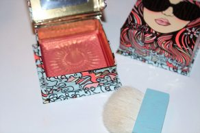 Benefit GALifornia Sunny Golden Pink Blusher Swatches