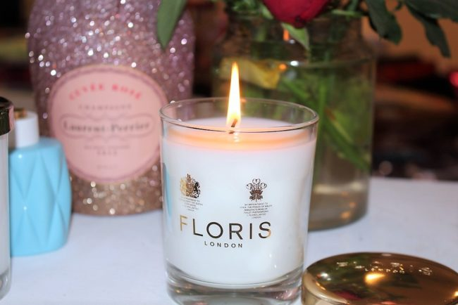 Floris Peony and Rose Candle
