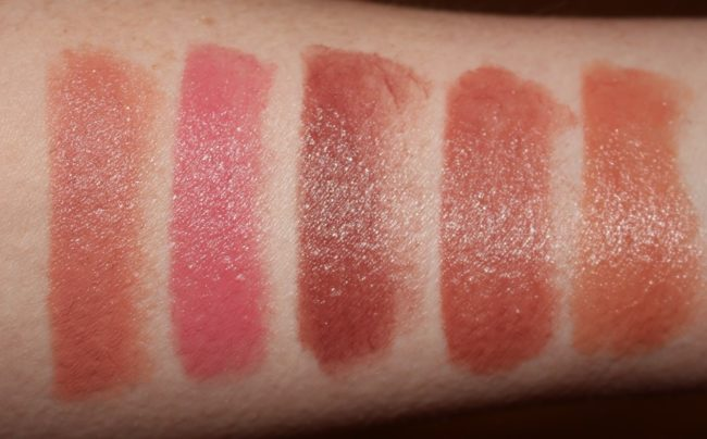 Hourglass GIRL Lip Stylo Swatches