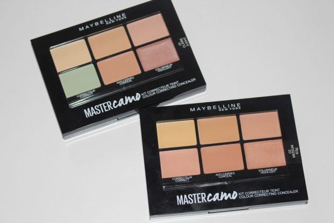 Maybelline Master Camo Colour Correcting Concealer Kits