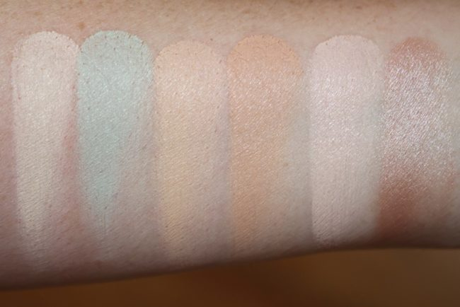 Maybelline Master Camo Colour Correcting Concealer Kit - Light Swatches