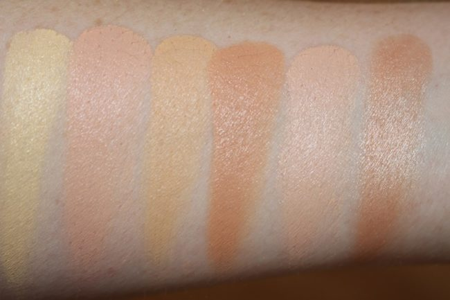 Maybelline Master Camo Colour Correcting Concealer Kit - Medium Swatches