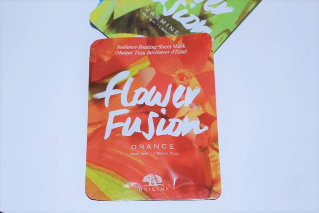 Origins Flower Fusion Hydrating Sheet Mask - Orange Flower