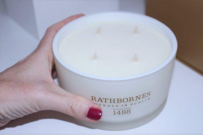 Rathbornes Wild Mint, Watercress & Thyme Luxury Candle