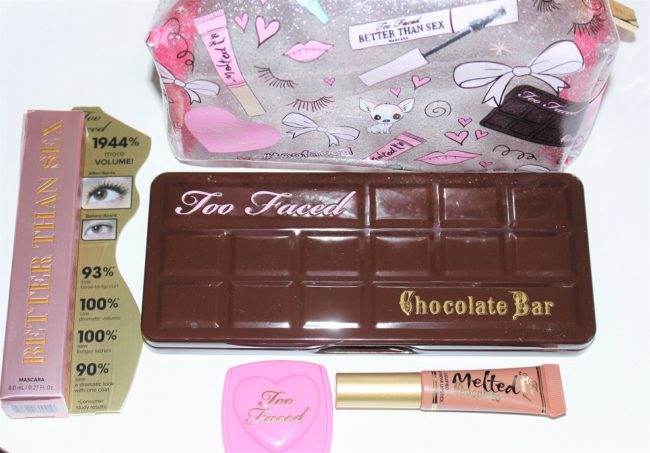 Too Faced Skinny Dip Love, Lashes & Chocolate Collection