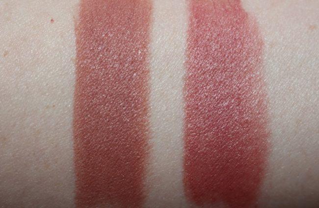 Victoria Beckham Estee Lauder Nude Spice Matte Lipstick Swatch