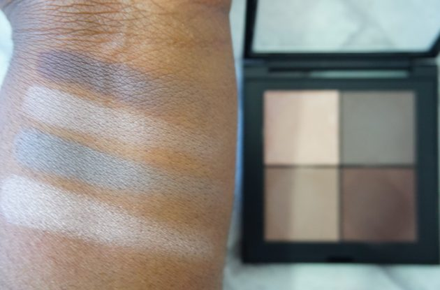 GOSH SS17 Eye Xpression Palettes- 001 Back To Nature Swatches