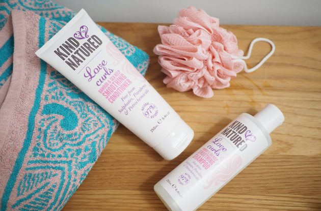 Kind Natured Love Curls Bamboo and Sea Kelp Smoothing Shampoo and Conditioner