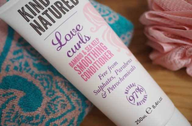 Kind Natured Love Curls Bamboo and Sea Kelp Smoothing and Conditioner