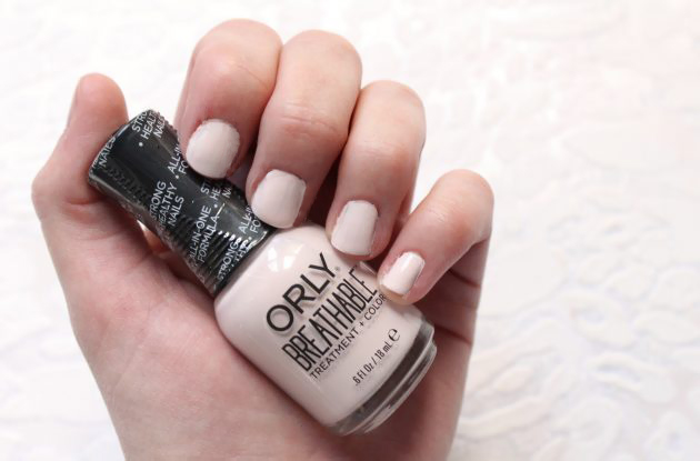 Orly Breathable Nail Polish - Rehab Swatch