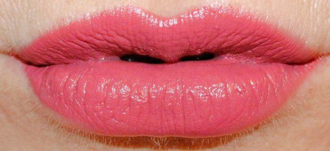 bobbi brown art stick liquid lip swatches vintage pink