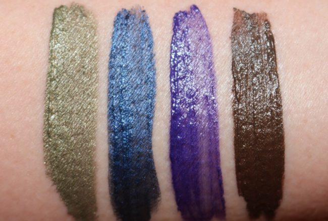 L'Oreal Infallible Eye Paint Swatches