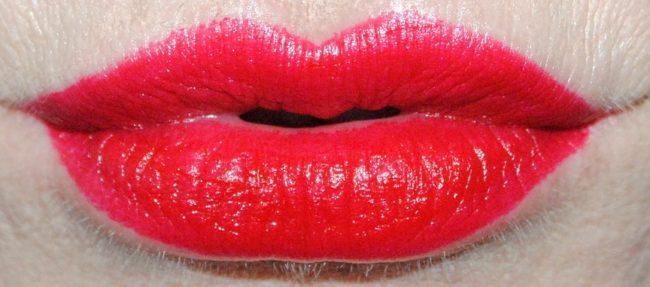 MAC Betty Boop Red Lipstick Swatch