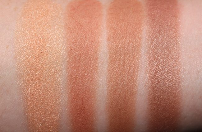 Maybelline Master Bronze Color & Highlighting Kit Swatches