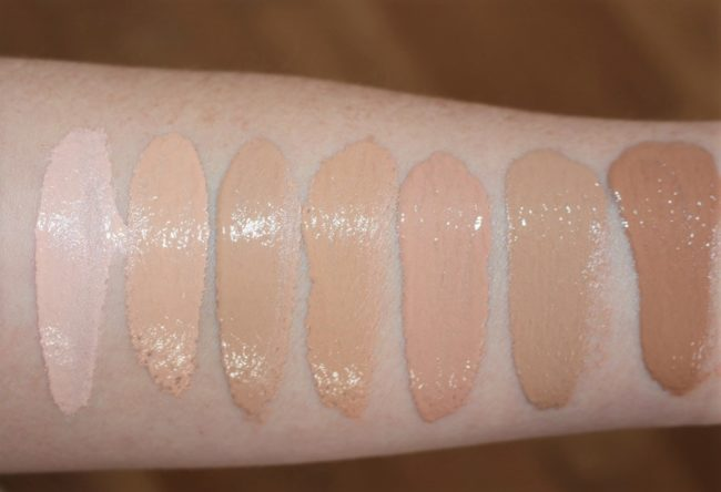 Rimmel Wake Me Up Foundation 2017 Swatches