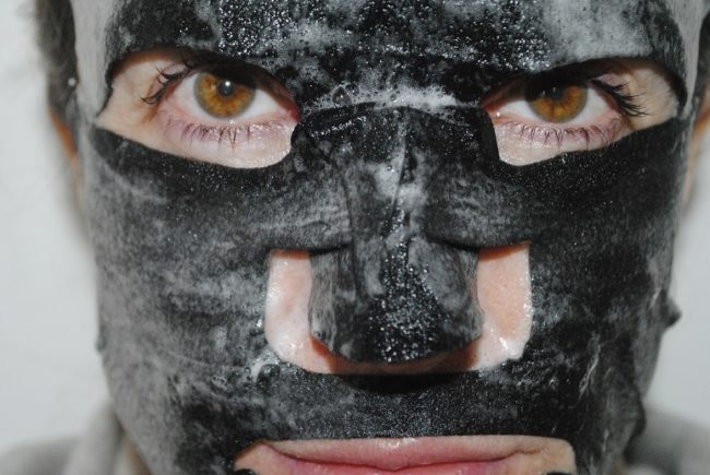 Sanctuary Purifying Charcoal Bubble Sheet Mask