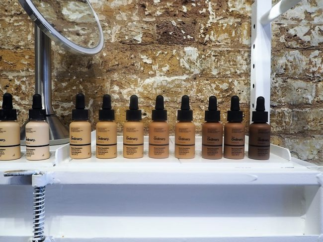 The Ordinary Colours Foundation Swatches - Serum