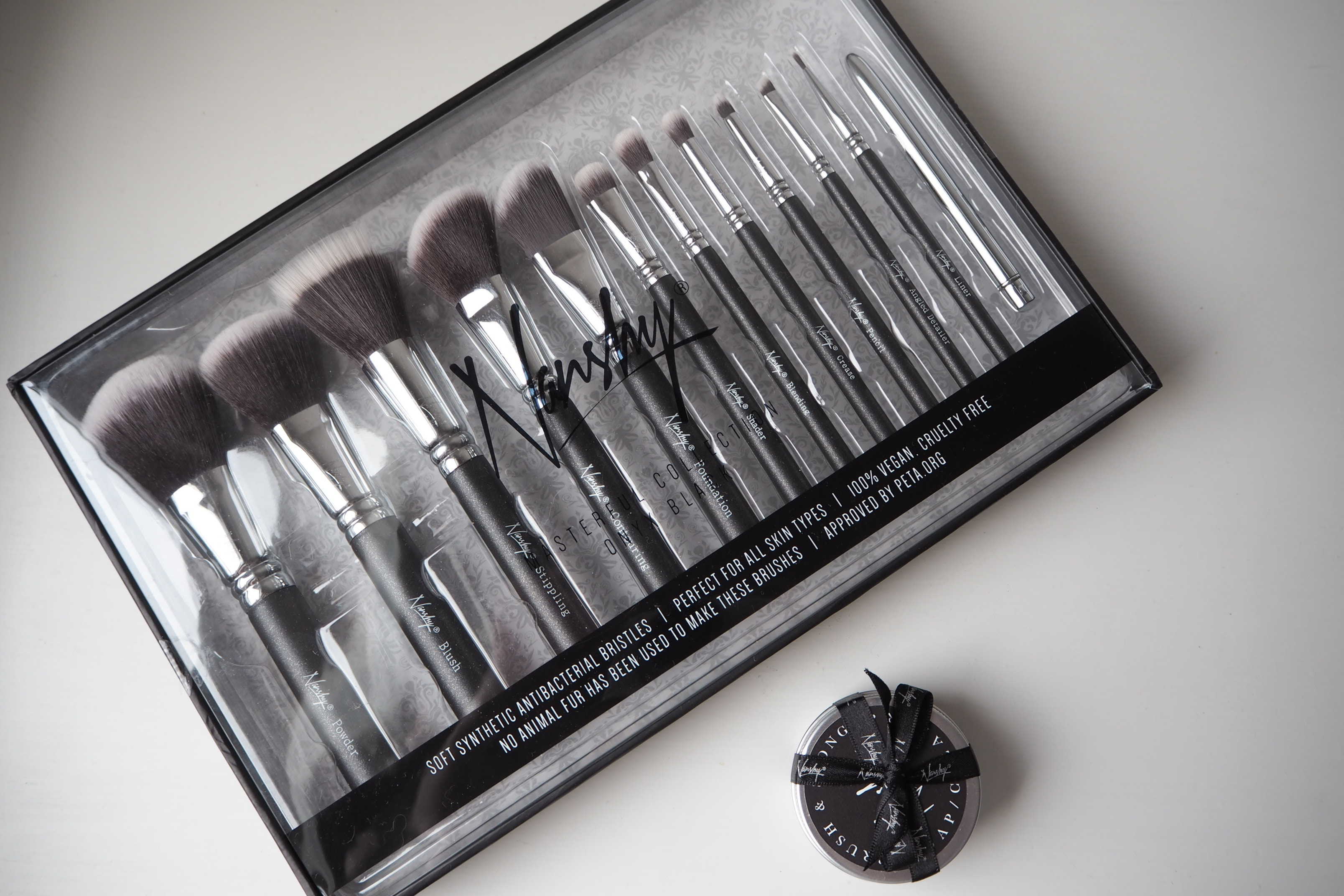 Nanshy Masterful Brush Collection and Brush & Sponge Cleaning Soap