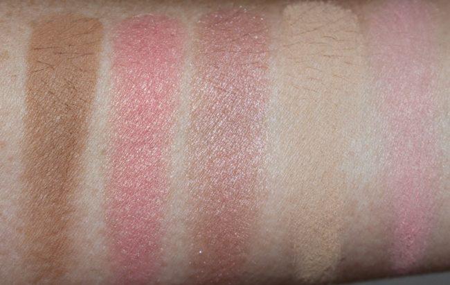 Benefit Hoola Lite Swatch - Cheek Parade Beauty & The Beat Blush Kit