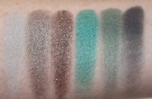 MAC Fruity Juicy Eyeshadow X 6 - Love in the Glades Swatches