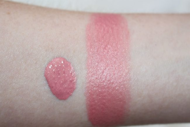 NARS Orgasm Liquid Blush Swatch