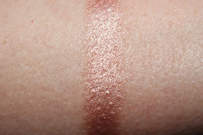 Tom Ford Paradiso Collection 2017 - Cream & Powder Eye Color Swatch (layered)