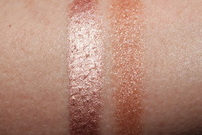 Tom Ford Paradiso Collection 2017 - Cream & Powder Eye Color Swatch