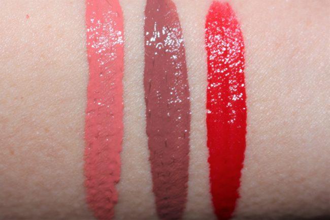 Trish McEvoy Liquid Lip Color Swatches