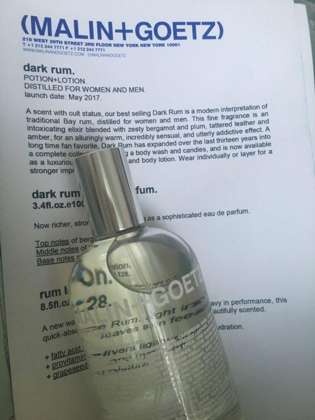 Malin + Goetz Dark Rum