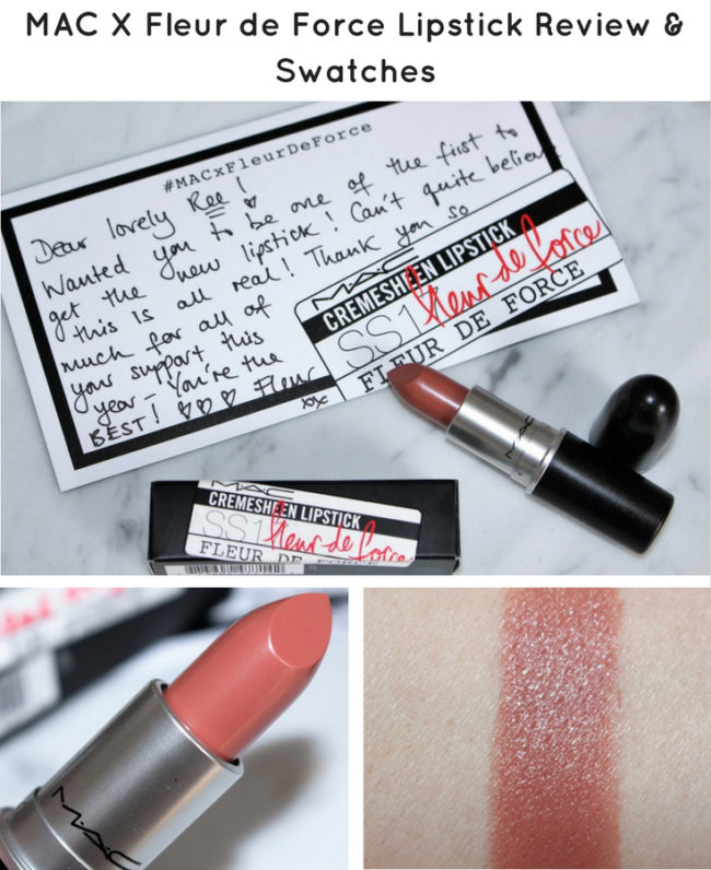 Here is everything you need to know about the brand new MAC X Fleur de Force Lipstick. I have lots of photos, swatches and how it looks on me.