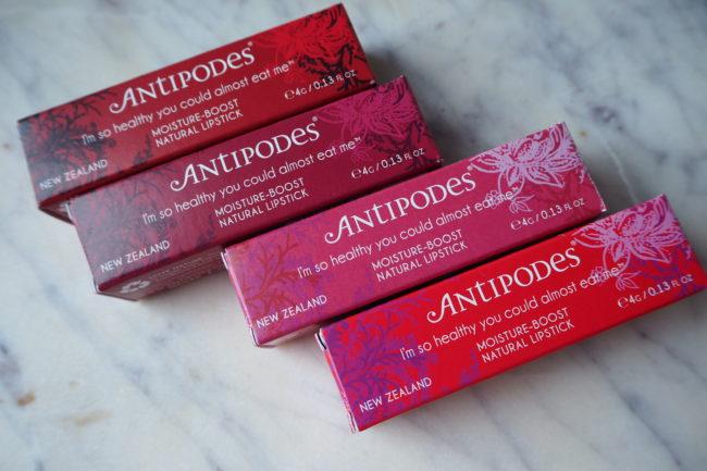 Antipodes Moisture Boost Natural Lipsticks