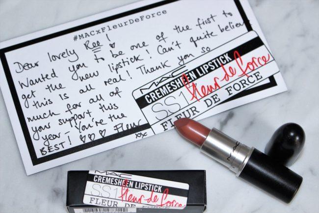 MAC X Fleur de Force Lipstick