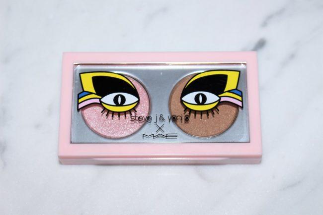 MAC X Steve J and Yoni P Eyeshadow X 2 - Touch Me Baby