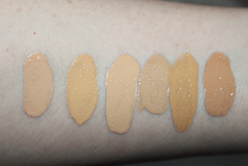Nyx Total Control Drop Foundation Review Amp Swatches All