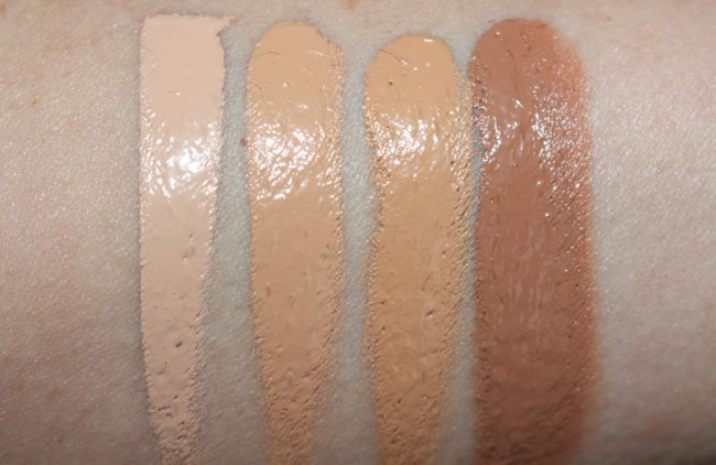 Rodial Airbrush Makeup Foundation Paste Swatches
