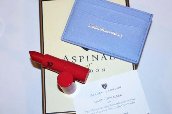 Space NK x Aspinal Gift with Purchase Summer Edition 2017