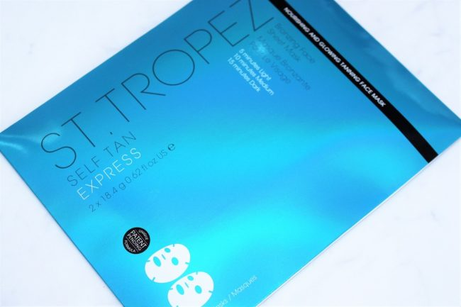 St.Tropez Self Tan Express Bronzing Face Sheet Mask