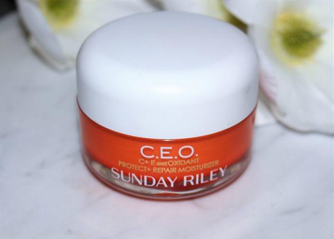 Sunday Riley CEO Protect & Repair Moisturiser