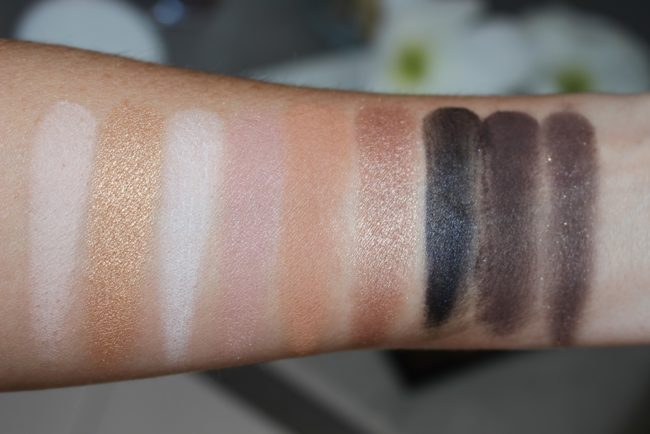 Trish McEvoy Light and Lift Eye Color Palette II Swatches