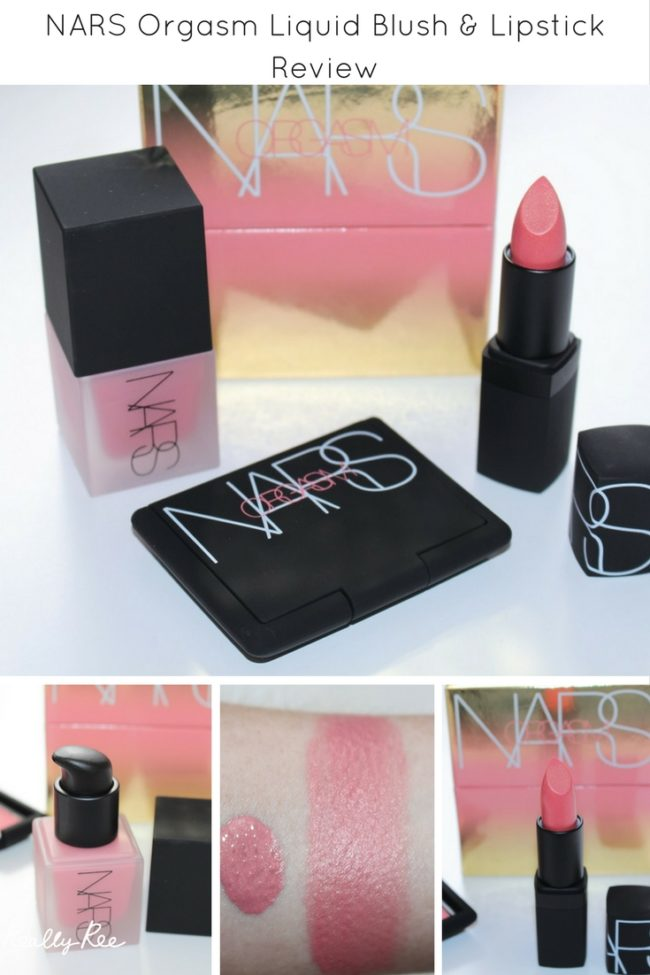 Orgasm Liquid Blush and Orgasm Lipstick?! They are in the brand new NARS Orgasm Collection which also features a limited edition blush. Swatches here!
