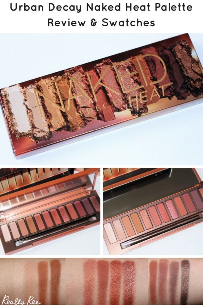 Here are my Urban Decay Naked Heat Swatches. I think this could be my most loved eyeshadow palette ever. See all the shades & find out how to get it here.