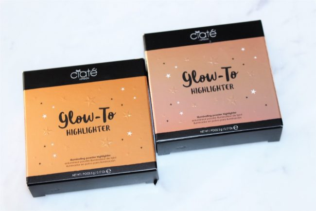 Ciate Glow To Highlighter Review & Swatches - Starburst & Moondust