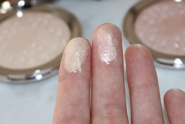 Ciate Glow To Highlighter Swatches - Starburst & Moondust