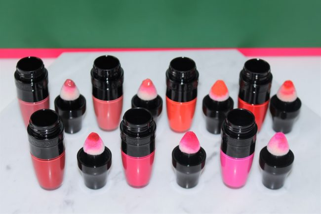 Lancome Matte Shaker Swatches