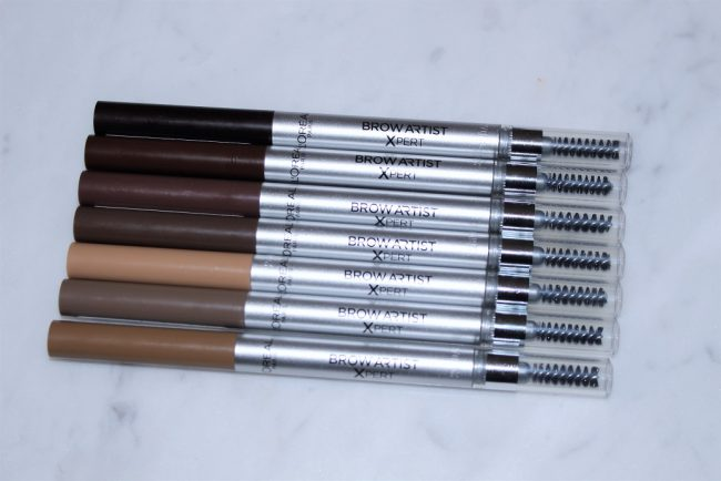 L Oreal Brow Artist Xpert Brow Pencil Review All Shade Swatches