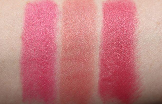 L'Oreal Matte Addiction Lipstick Swatch 101, 103, 104