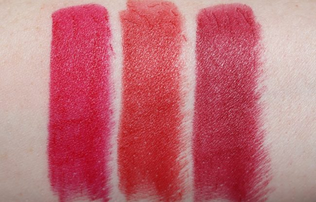 L'Oreal Matte Addiction Lipstick Swatch 347, 348, 349
