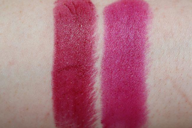 L'Oreal Matte Addiction Lipstick Swatch 430, 463